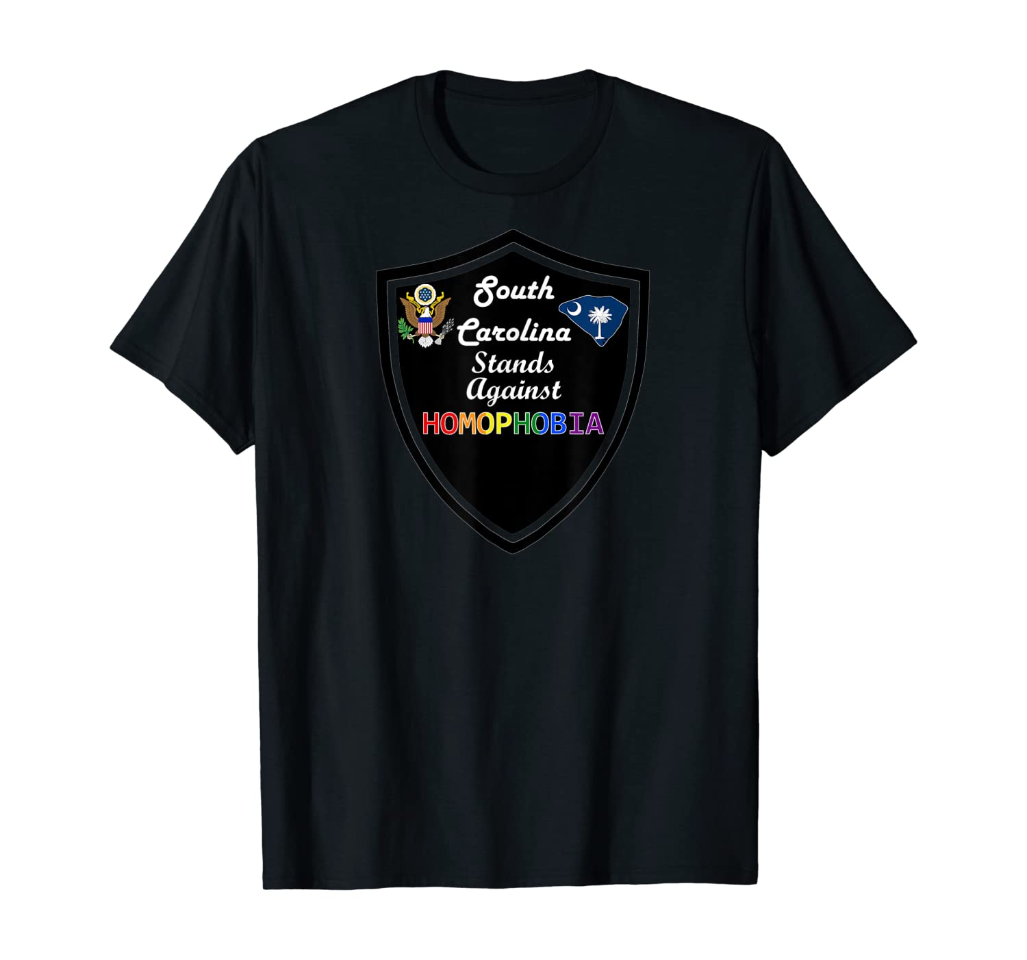 South Carolina Stands Against Homophobia Lgbt Rights Shirts
