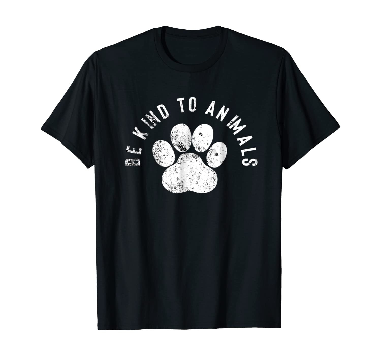 Amazon Com Be Kind To Animals Animal Rights T Shirt Clothing