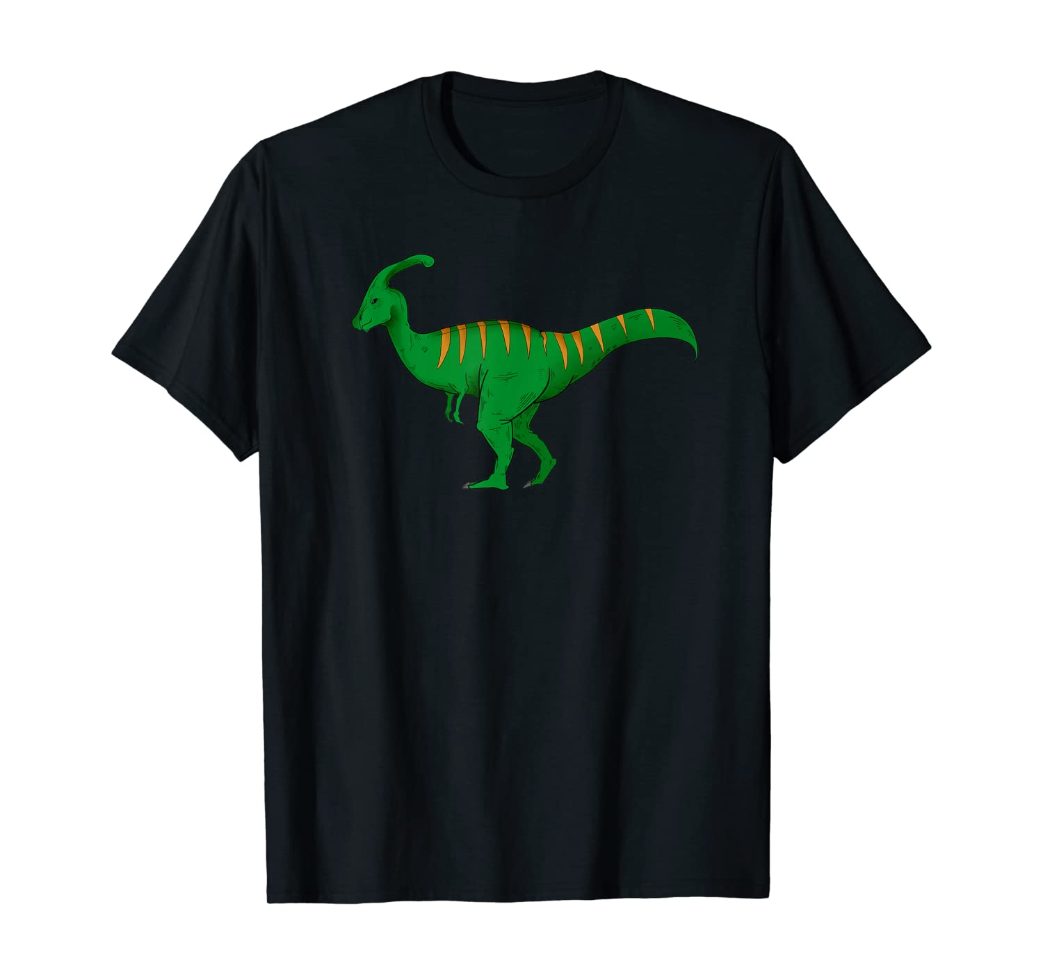 Parasaurolophus Dinosaur T-Shirt science and nature lovers