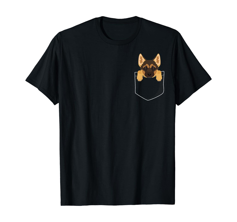 Pocket German Shepherd Puppy! Cute Dog Lover T-Shirt