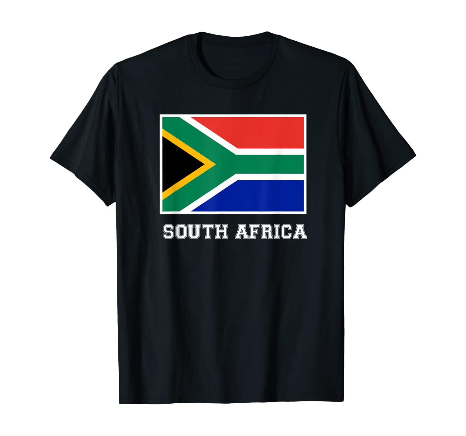 South Africa Country Flag African Home Pride Sports Style T-Shirt