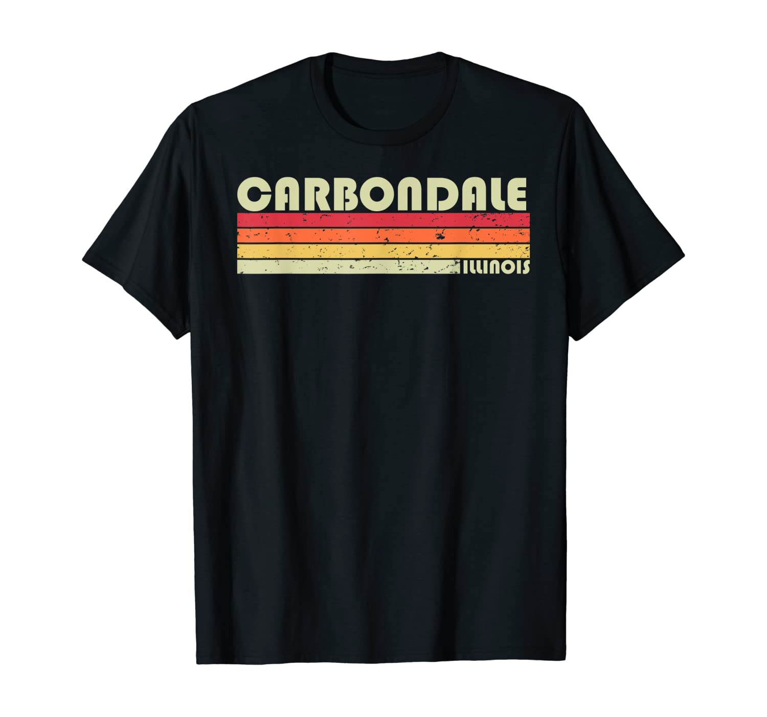 CARBONDALE IL ILLINOIS Funny City Home Roots Gift Retro 80s T-Shirt