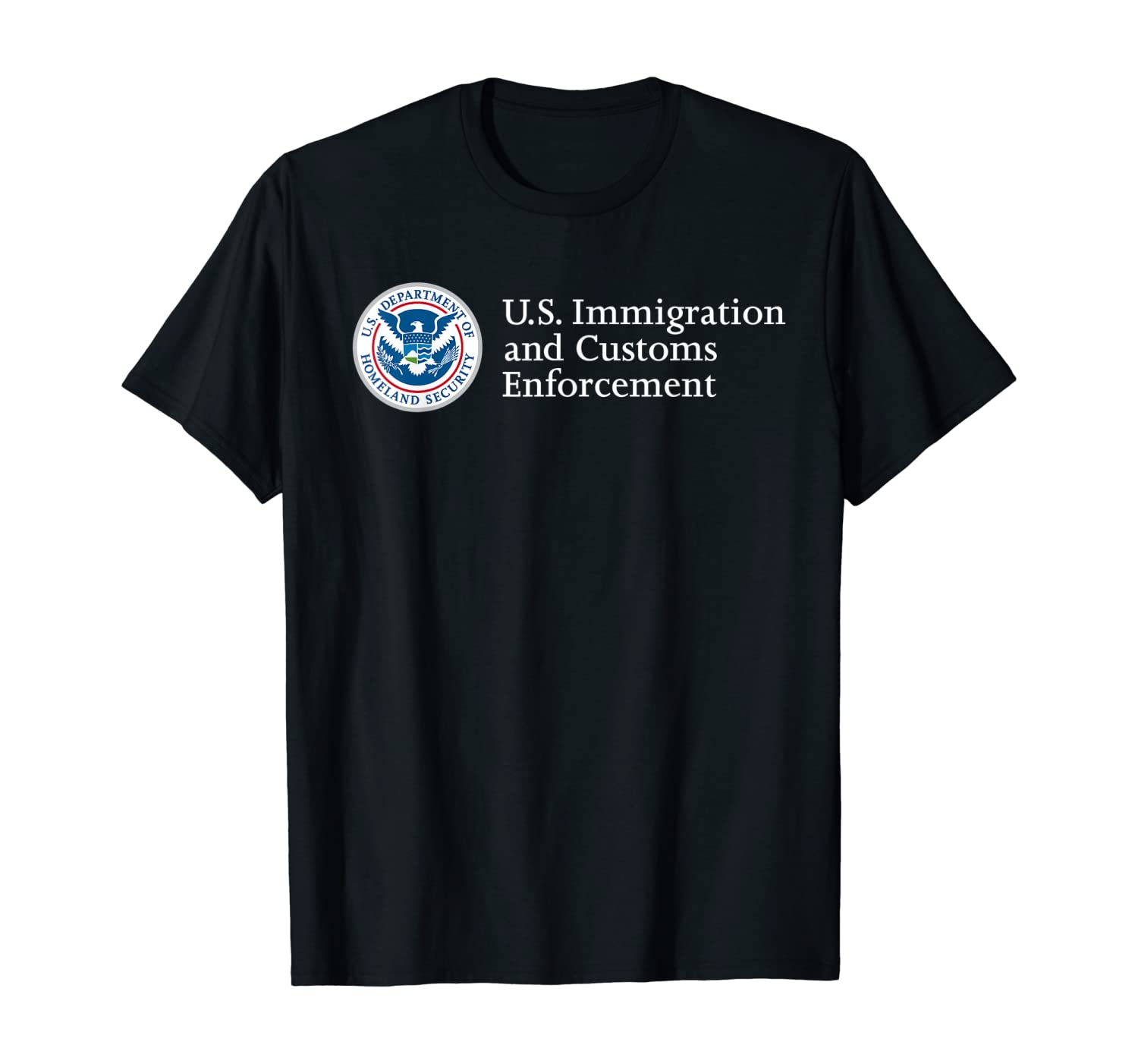 Immigration and Customs Enforcement ICE Homeland Security T-Shirt