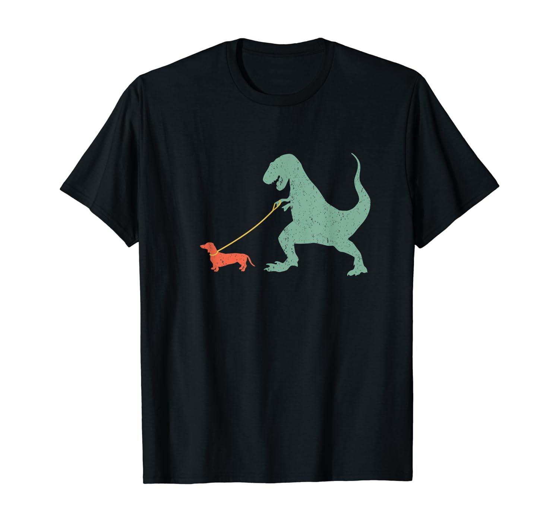 Cute Dachshund Dinosaur Funny Wiener Dog T-shirt