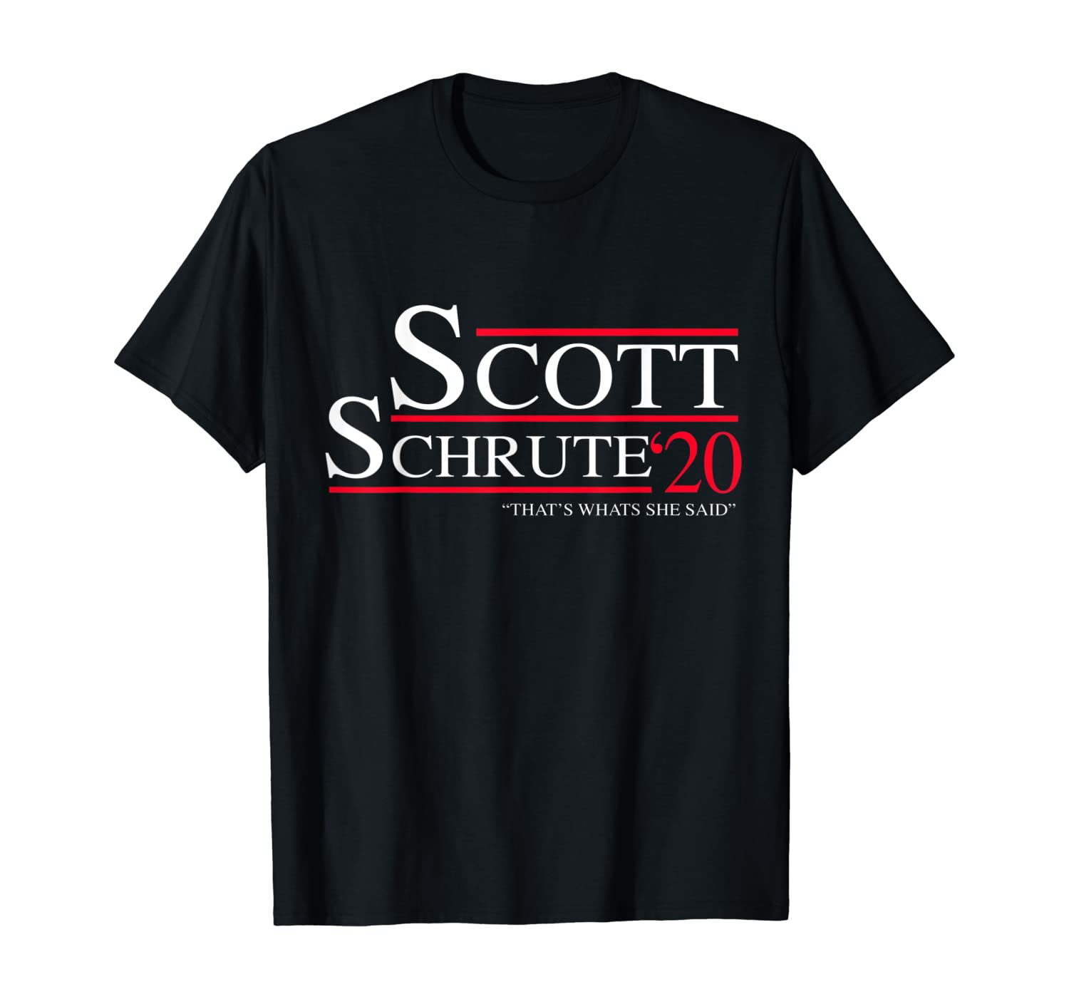 Office humor   Election 2020   Scott Schrute 2020   funny T-Shirt