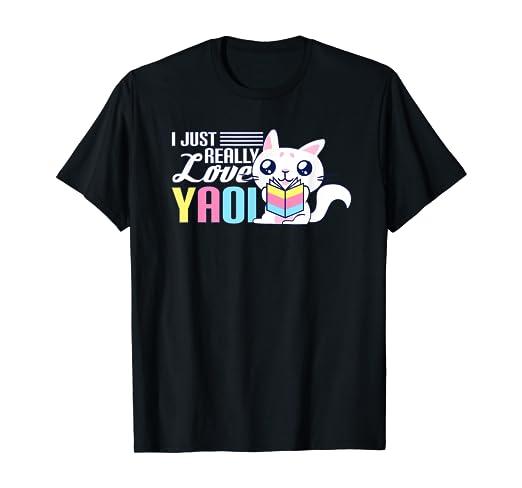 Camiseta que significa yaoi