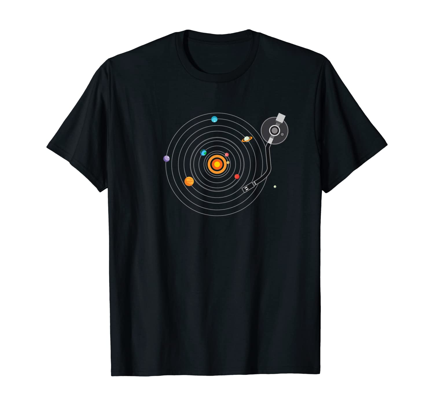 Shirt.Woot: Our Solar System on Vinyl T-Shirt