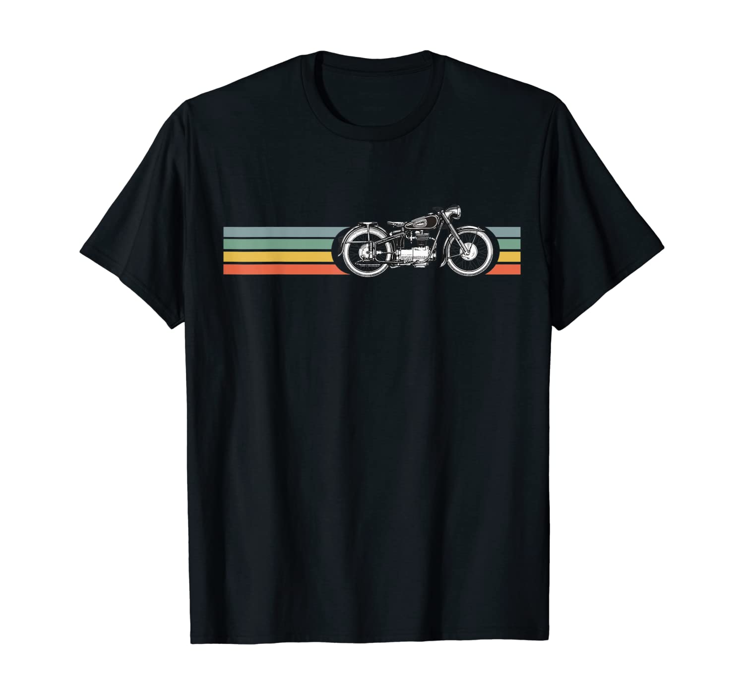 Retro Vintage Motorcycle | I love my Motorcycle T-Shirt