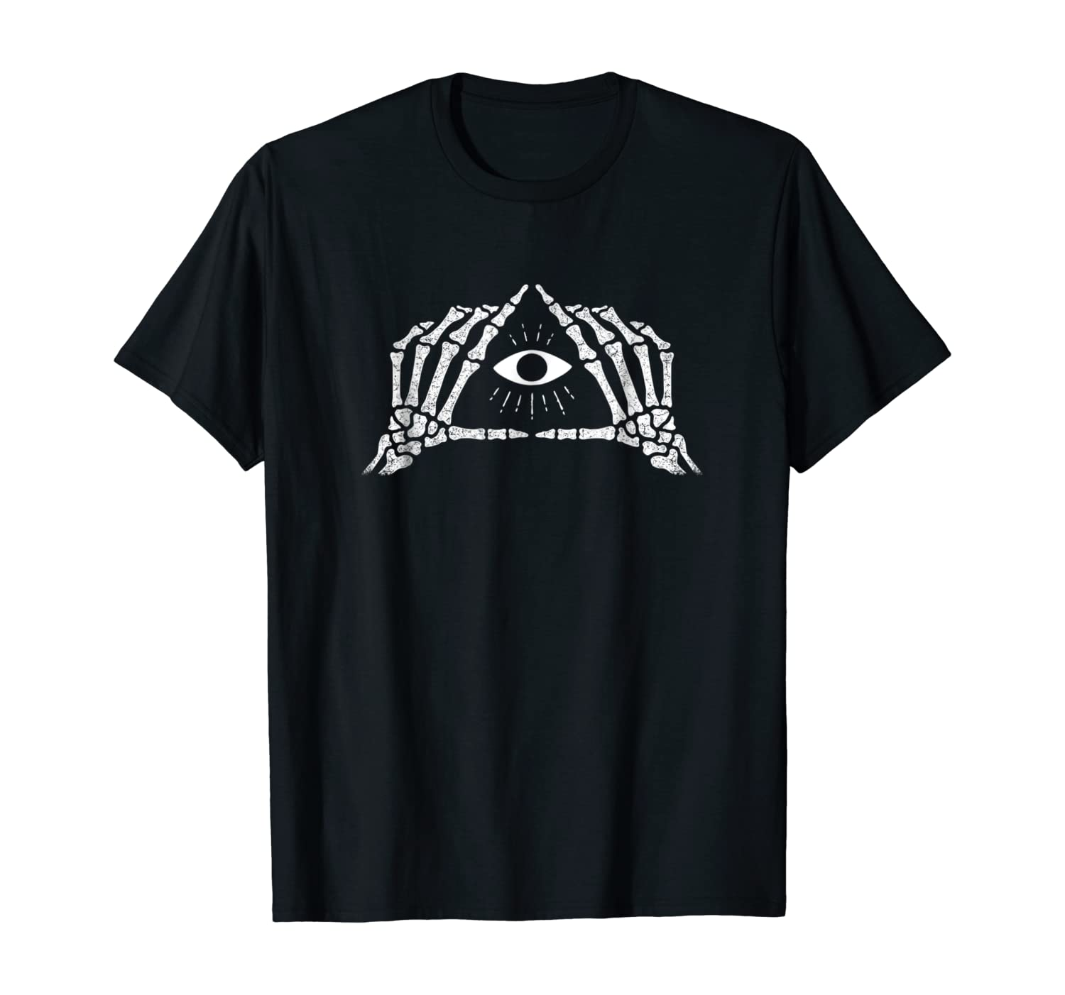 Shane Dawson Skeleton All-Seeing Eye T-Shirt
