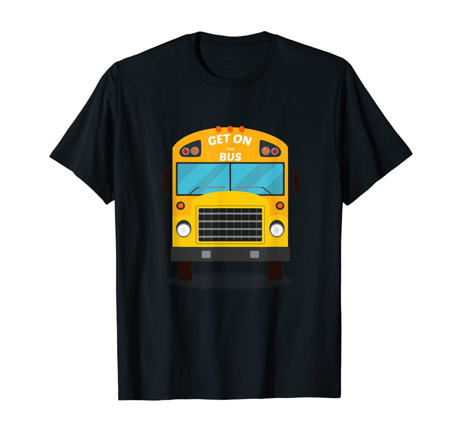 Chicago Get On The Bus Funny Baseball School Bus Gift Shirts