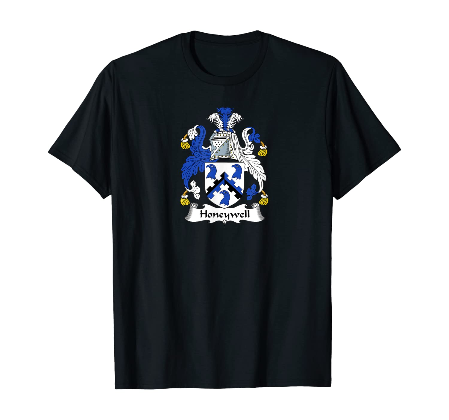 Honeywell Coat of Arms - Family Crest Shirt