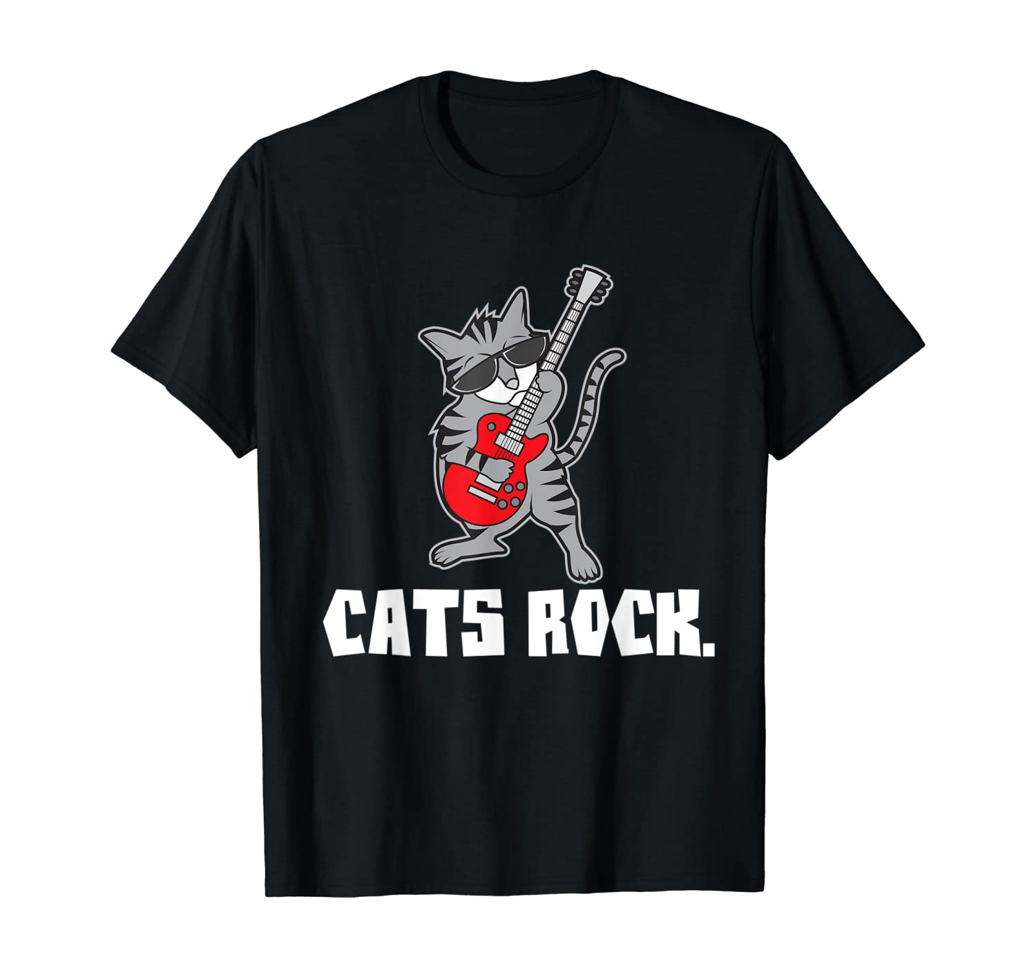 Funny Cats Rock Pet Owner Cat Lover Shirts