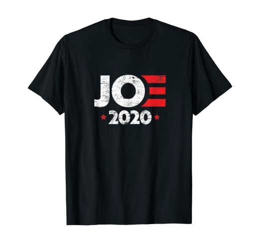 Joe Biden For President 2020 Vintage Logo Campaign T-Shirt