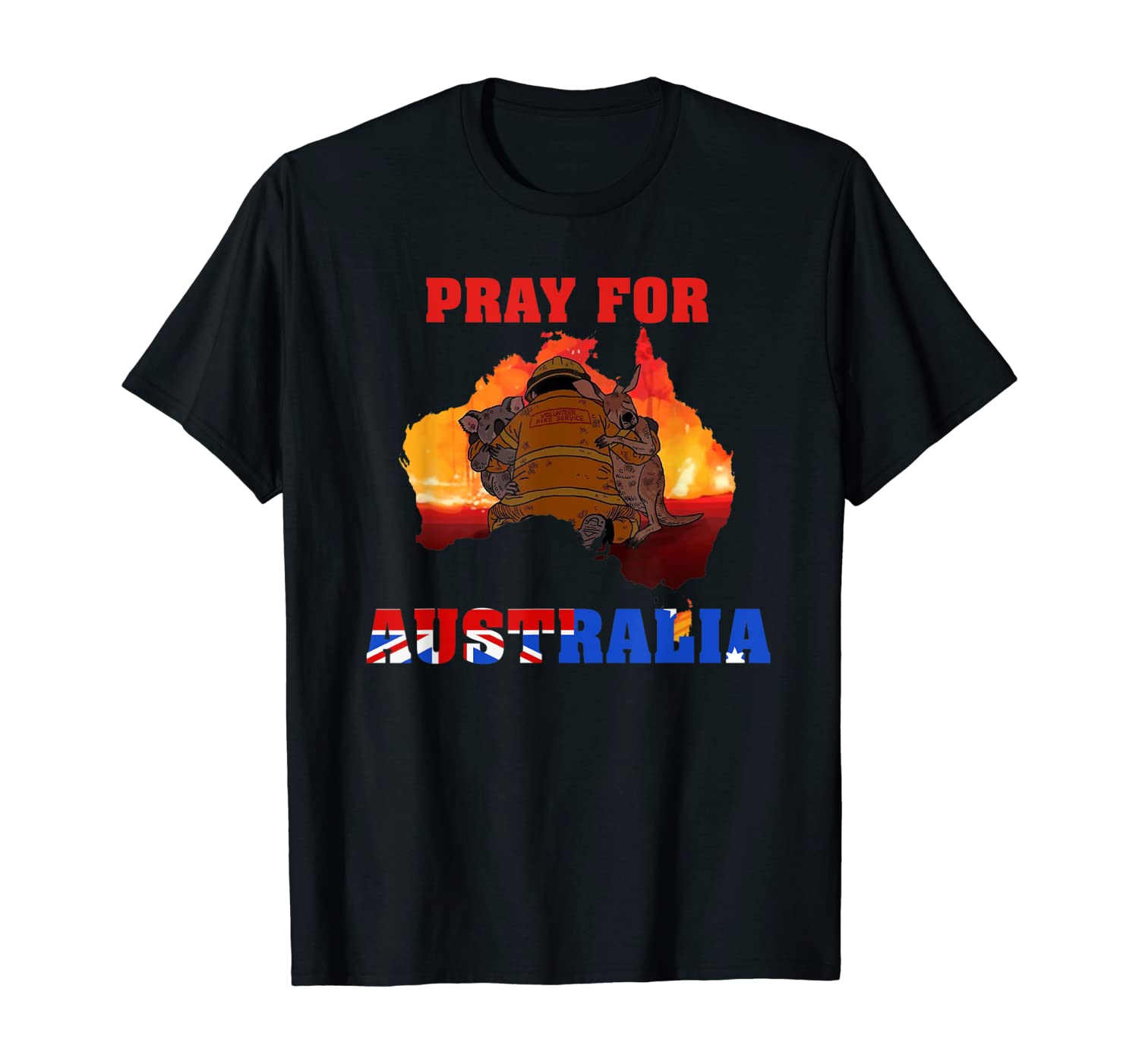 Pray For Australia T-Shirt