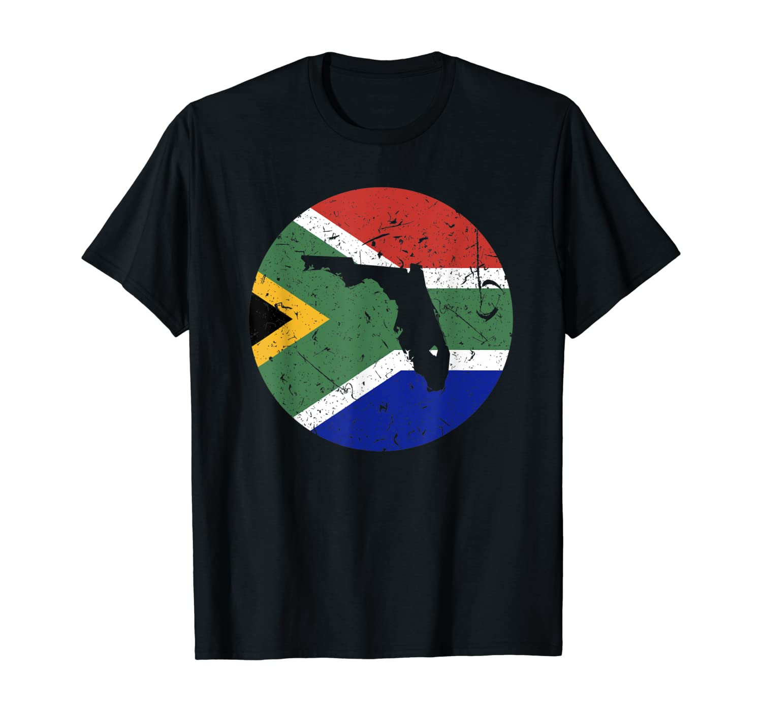 Proud Floridian-African From Florida South Africa Home Pride T-Shirt