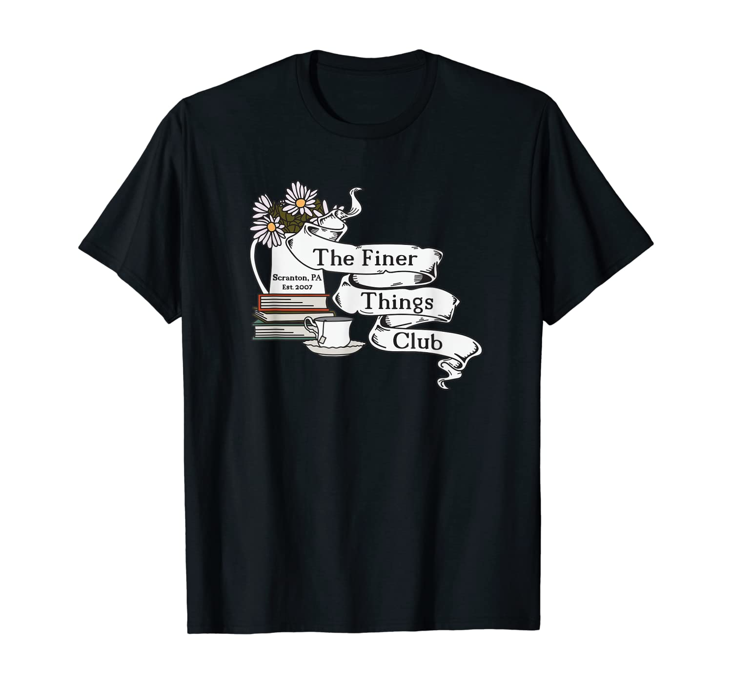 The Office Finer Things Club T-Shirt