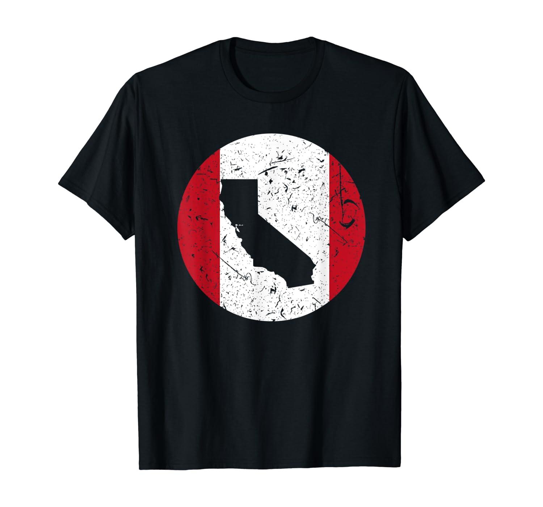 Proud Californian-Peruvian From California Peru Home T-Shirt