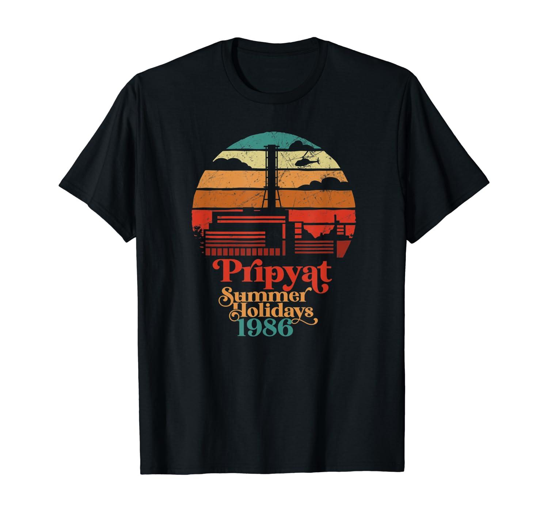 3.6 Roentgen Not Great, Not Terrible Chernobyl Retro Sunset T-Shirt