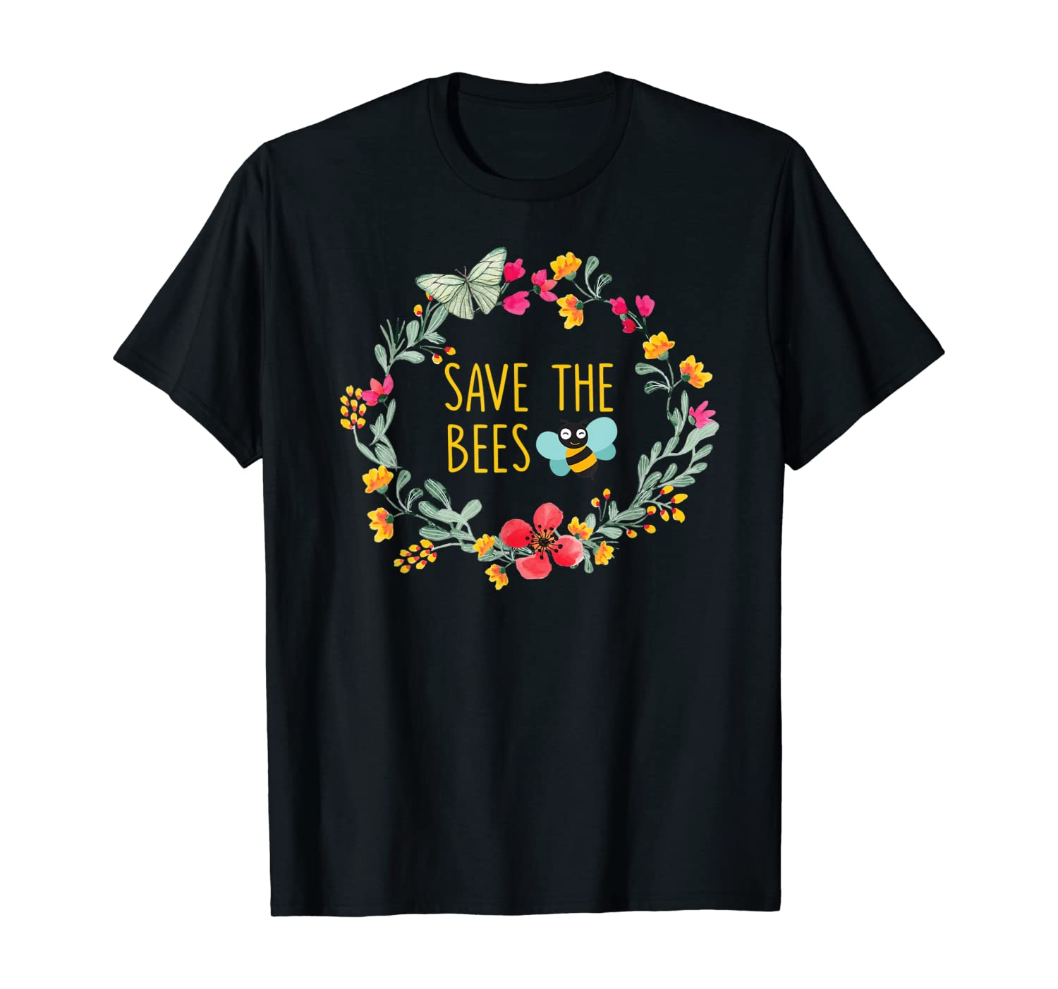 Save the Bees T-Shirt Nature Lovers Gift