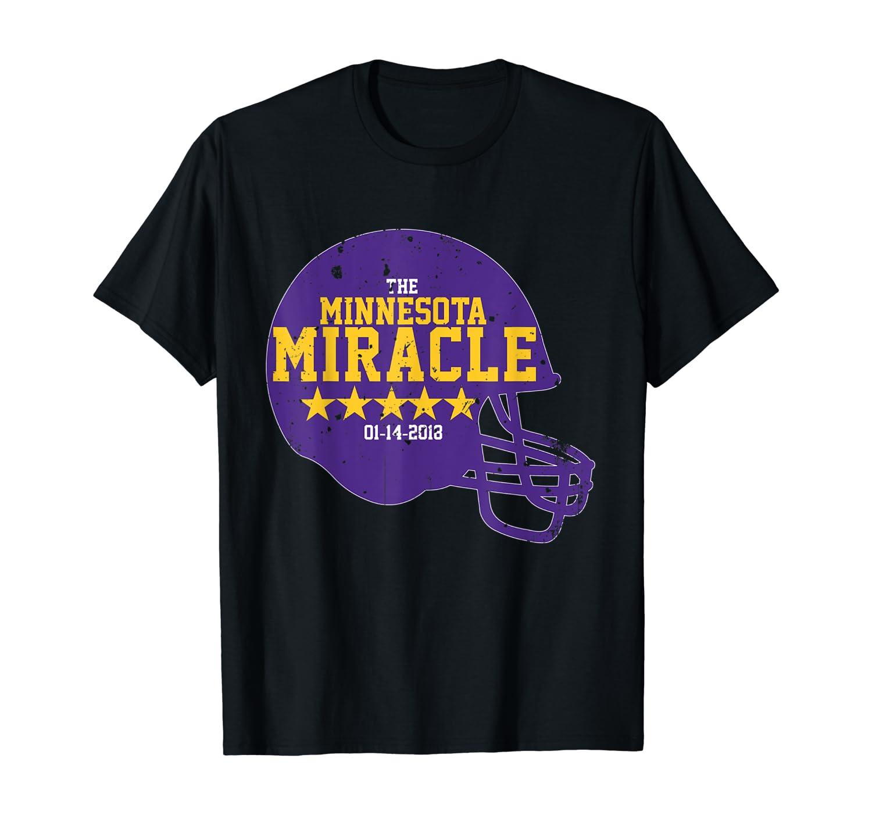 The Minnesota Miracle t-shirt Football Helmet shirt