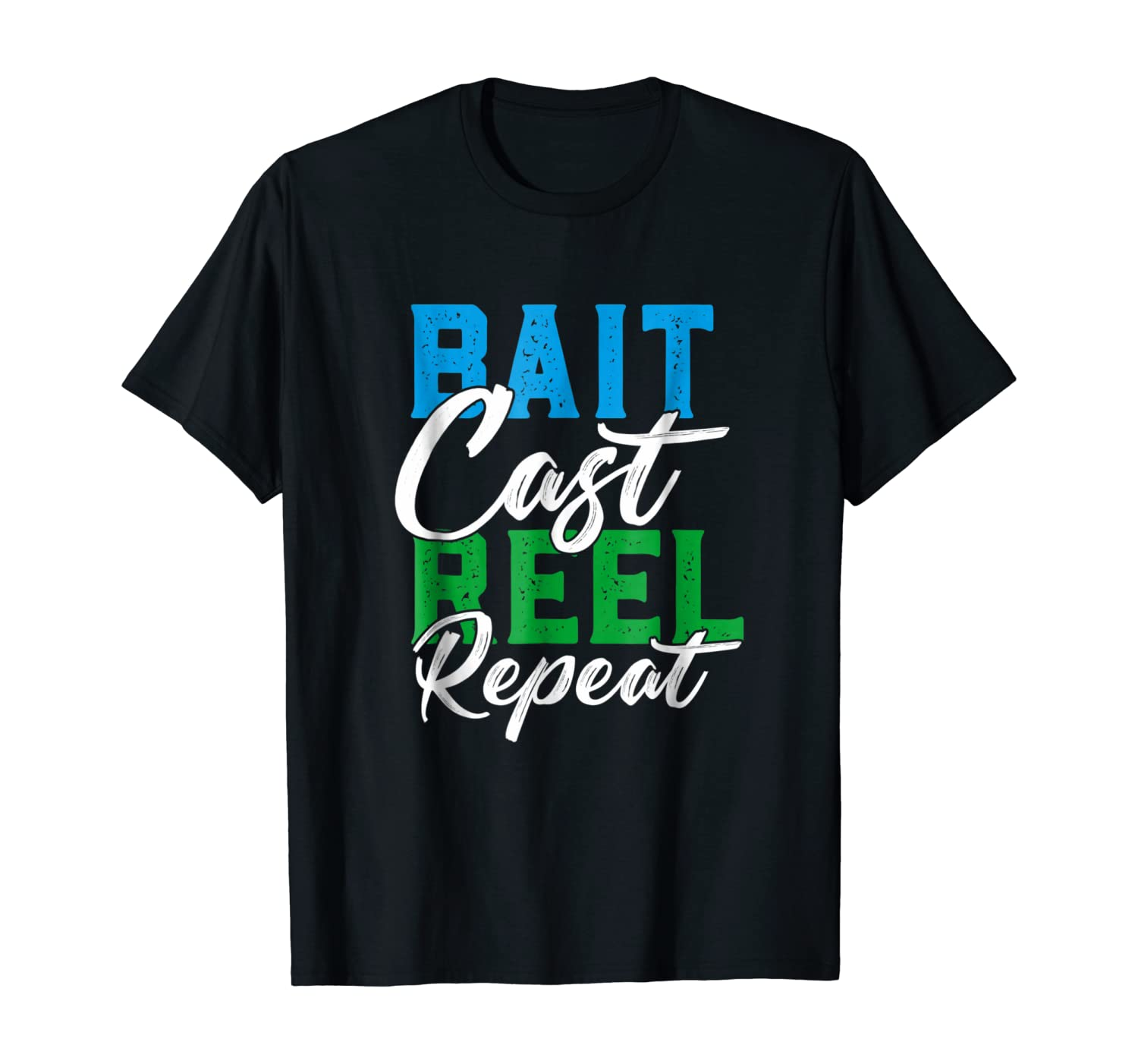 Bait Cast Reel Repeat | Funny Fishing Gift