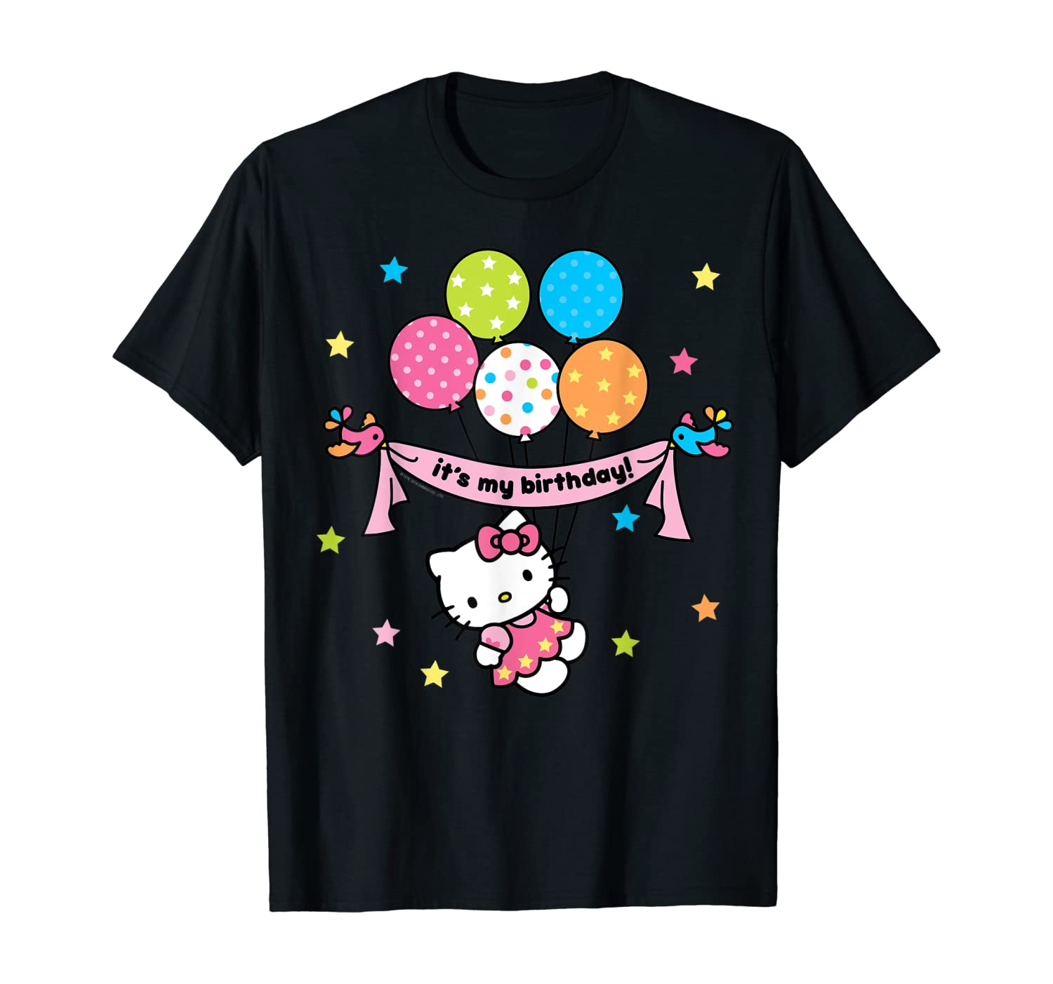 Hello Kitty It's My Birthday Geburtstags-T-Shirt