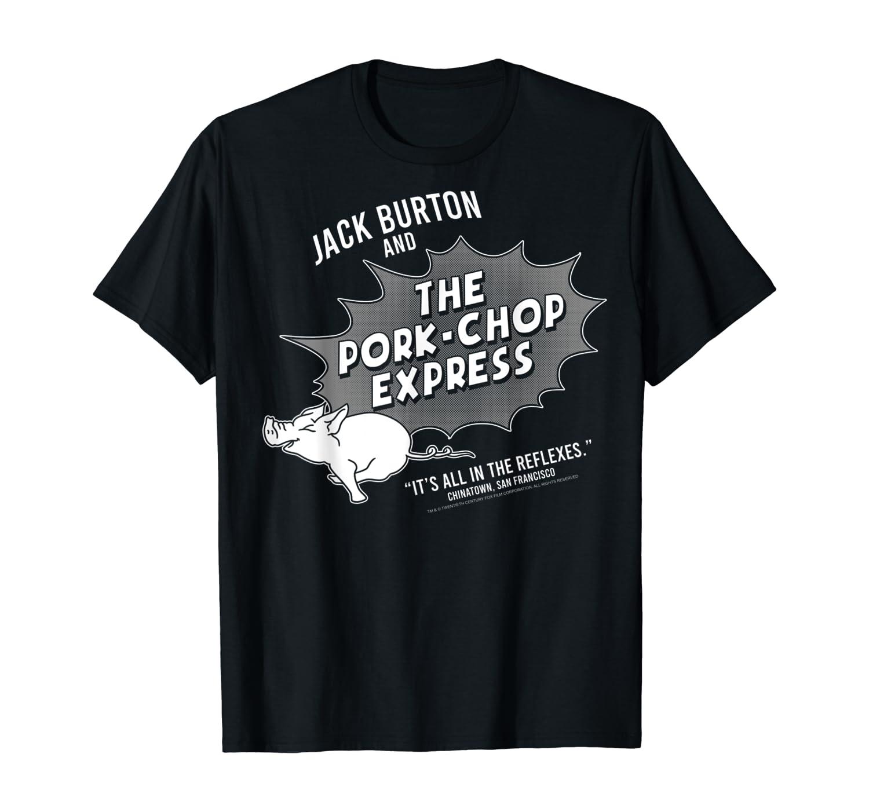 Big Trouble In Little China Jack Burton Pork-Chop Express T-Shirt