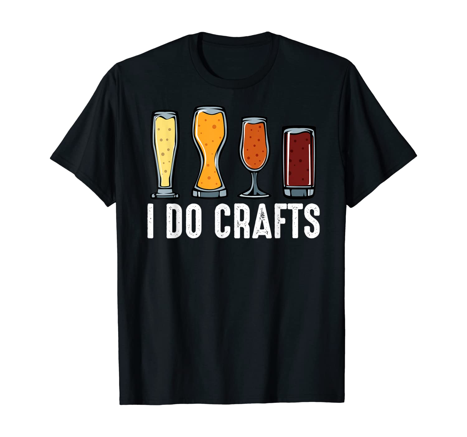 I Do Crafts Home Brewing Craft Beer Brewer Gift Homebrewing T-Shirt