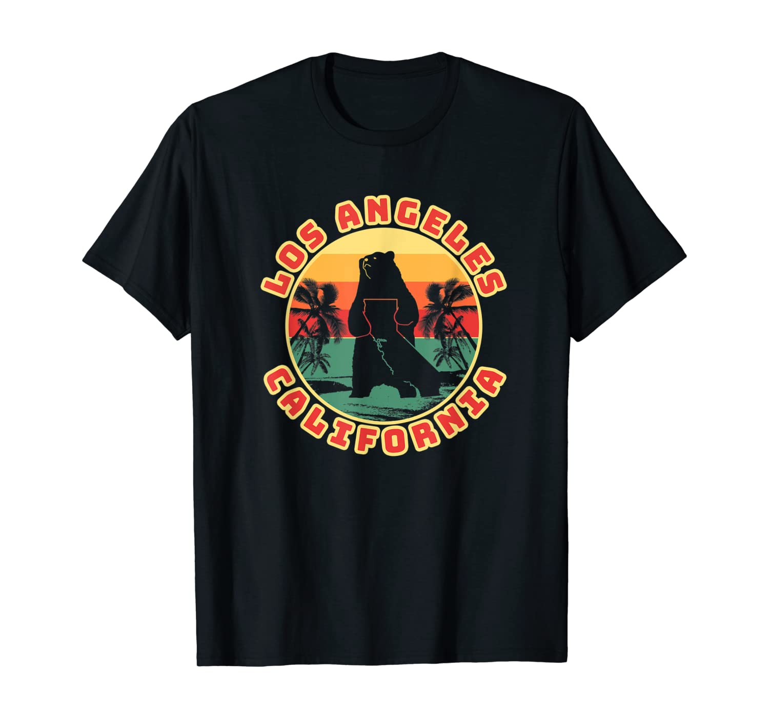 Los Angeles CA California City Lover Home Gift Graphic T-Shirt