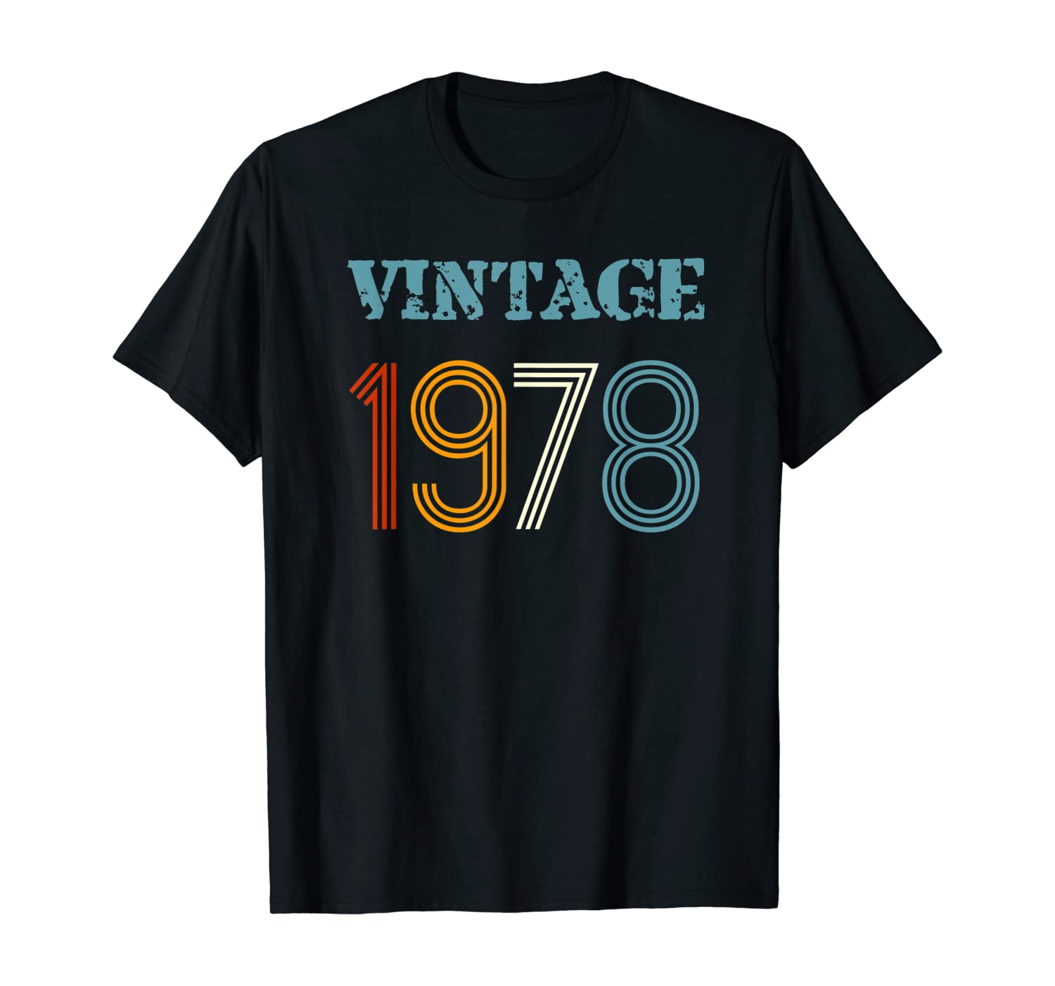 40th Birthday T Shirt Made In 1978 Novelty Gift Idea Vintage Mens Funny T SHIRT