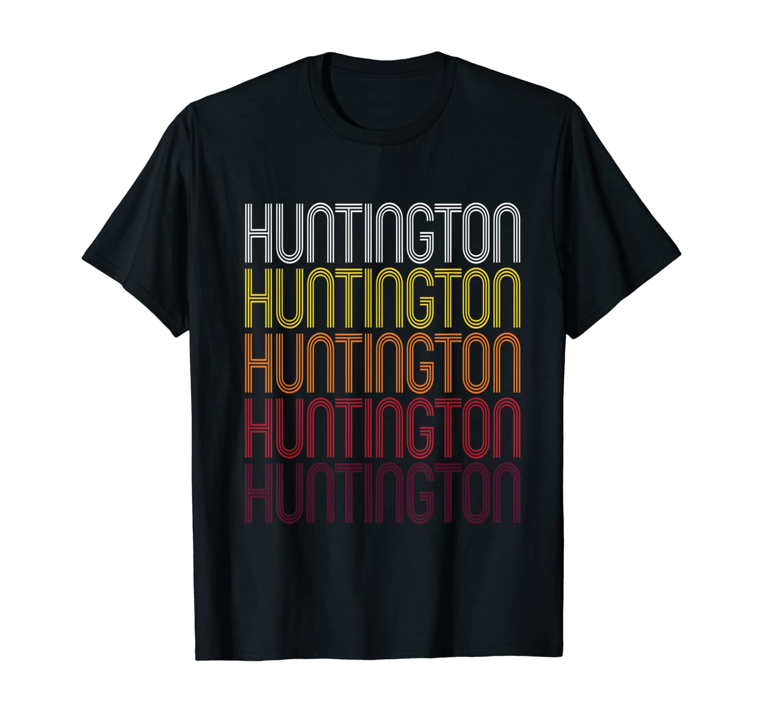 Huntington, IN | Vintage Style Indiana T-shirt