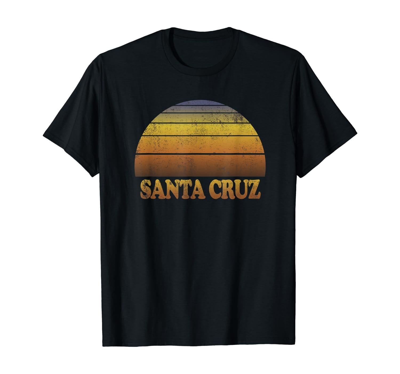 Santa Cruz Vintage Sunset Adult Souvenir Ns Shirts
