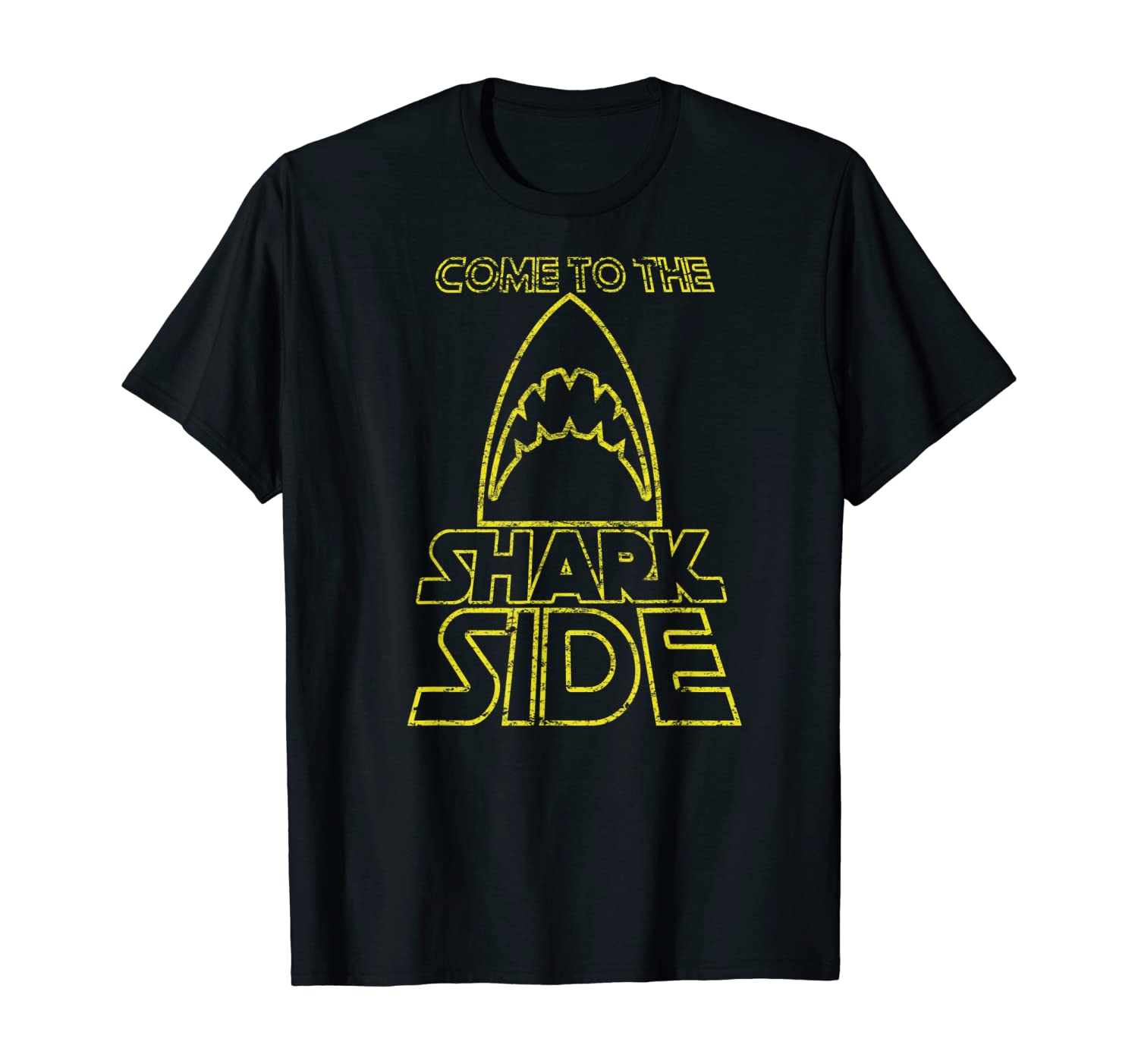 Come To The Shark Side T-Shirt Love Sharks Vintage Gift Tee