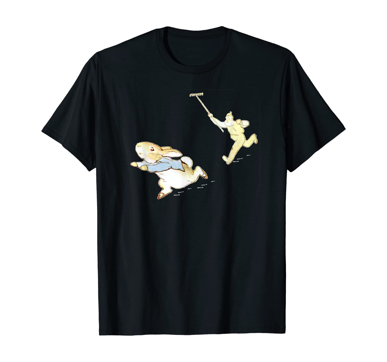Peter Rabbit Adventure: Chased by Mr. McGregor T-Shirt