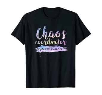 Amazon Com Chaos Coordinator Tee Cute Preschool Teacher T Shirt Clothing,Modern Style Full Wall Mirror Design For Living Room