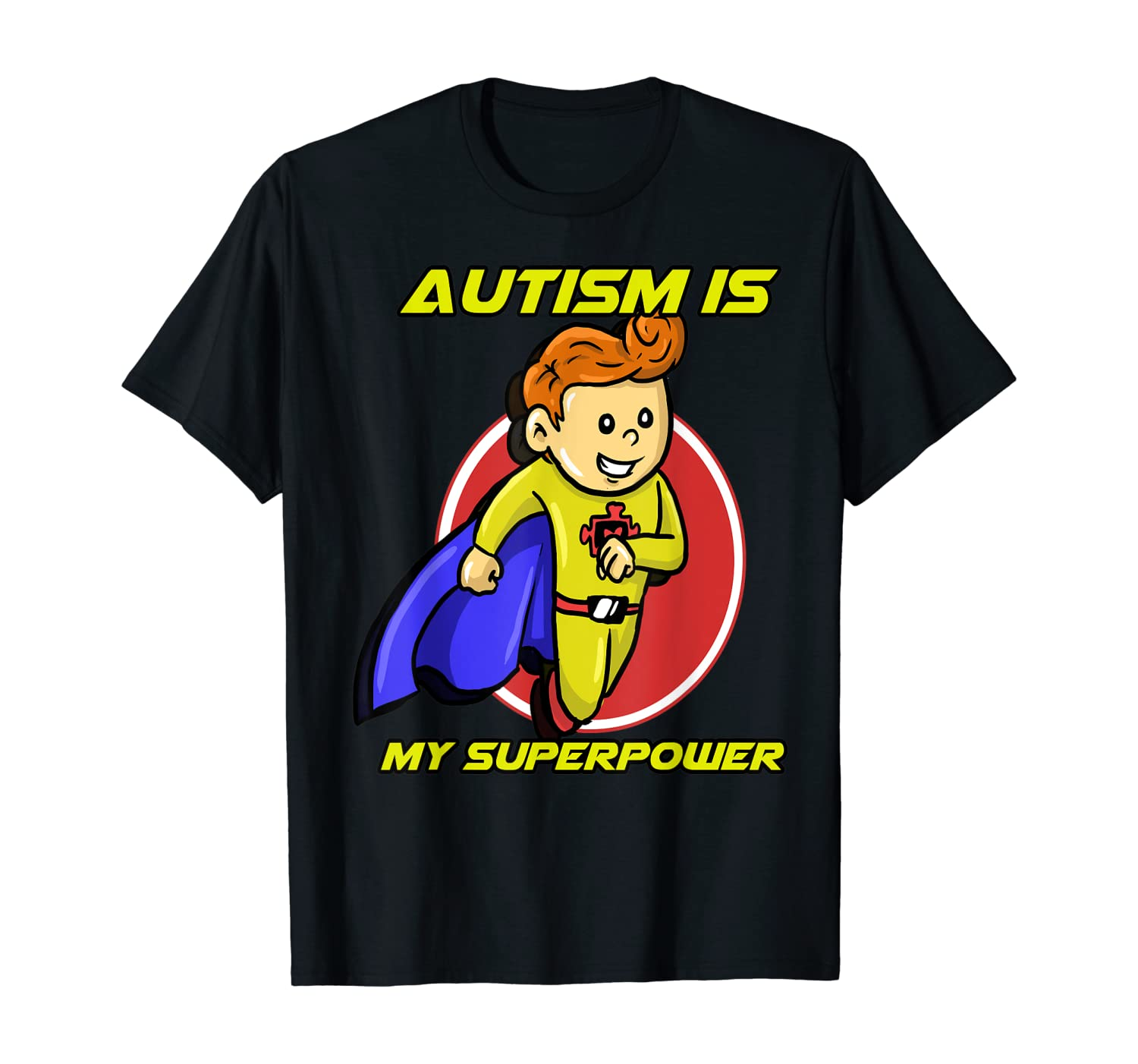 Autism Is My Superpower Awareness Day Support Gift Shirts