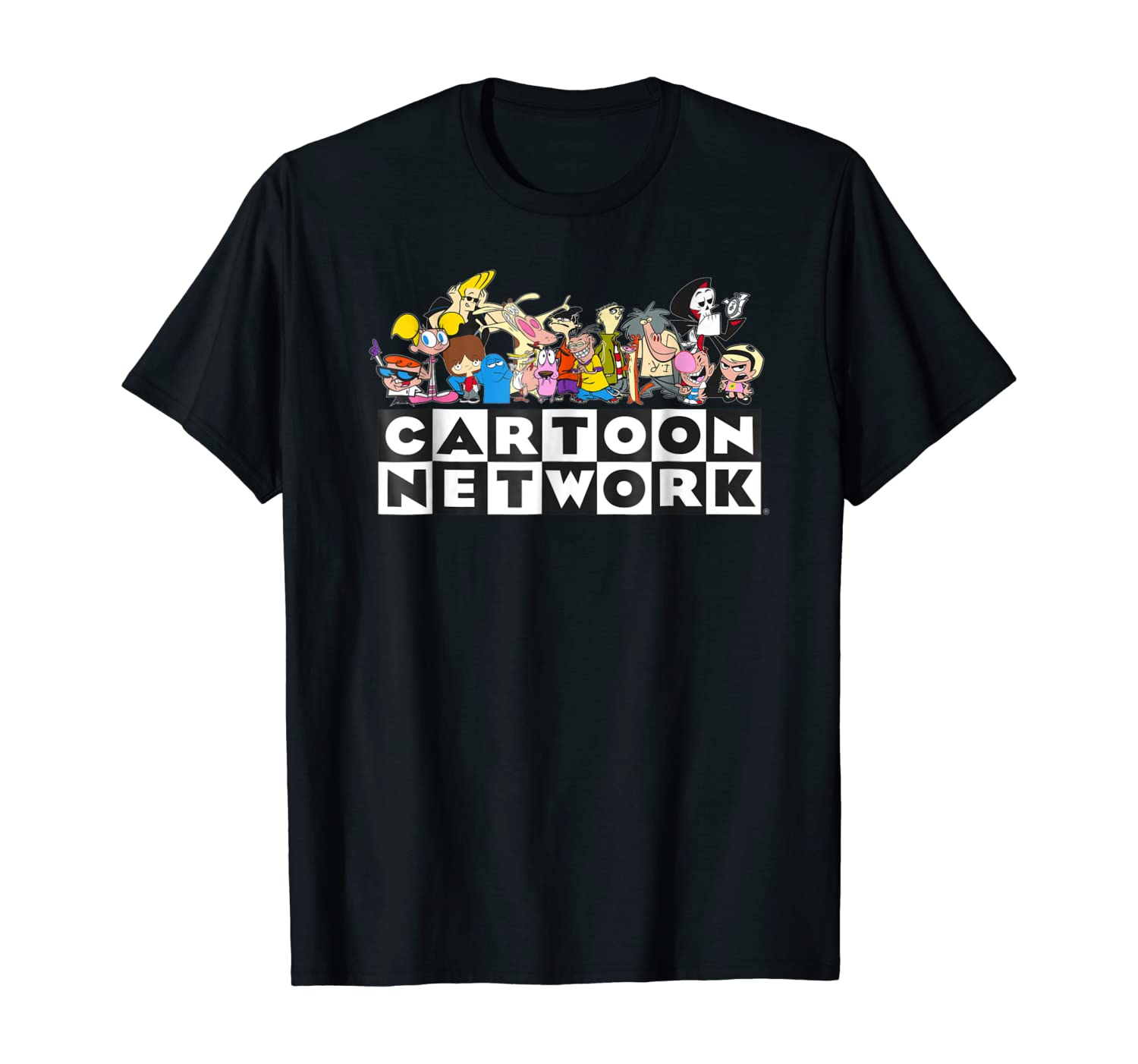 Amazon Com Cartoon Network Classic Character Feature T Shirt