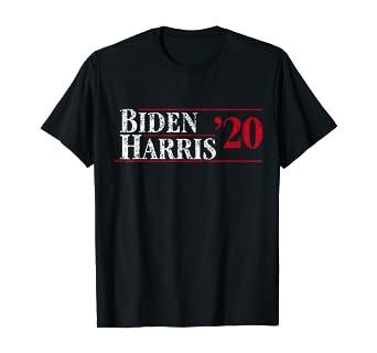 Amazon Com Joe Biden 2020 And Kamala Harris On One Ticket T Shirt Clothing