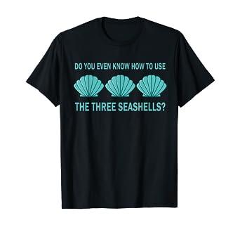 Three Seashells Demolition Man Meme Gift T-Shirt