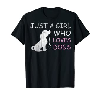 LOVE DOGS LADIES T SHIRT TEE ANIMAL LOVER DOG DESIGN CUTE GIFT IDEA FOR HER FOR