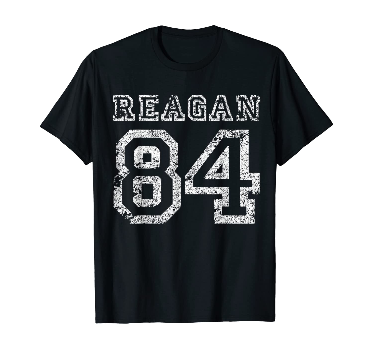 US President Ronald Reagan 84 Vintage Election Campaign T-Shirt