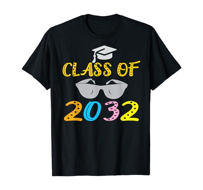 Class Of 2032 Kindergarten First Day Of School T-Shirt