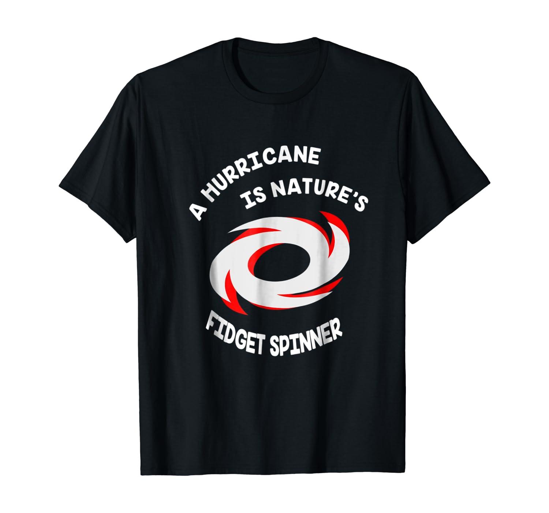 Hurricane Is Nature's Fidget Spinner Funny Kids T shirt
