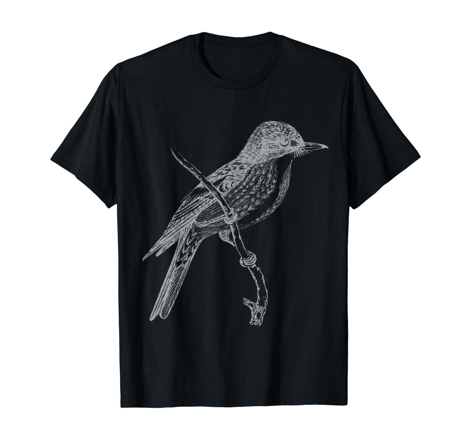 Chickadee Bird Nature Lover Birding Gift T-Shirt