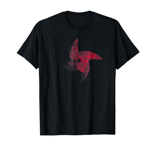 Amazon.com: Fire Shuriken Shirt Japanese Ninja Shinobi: Clothing