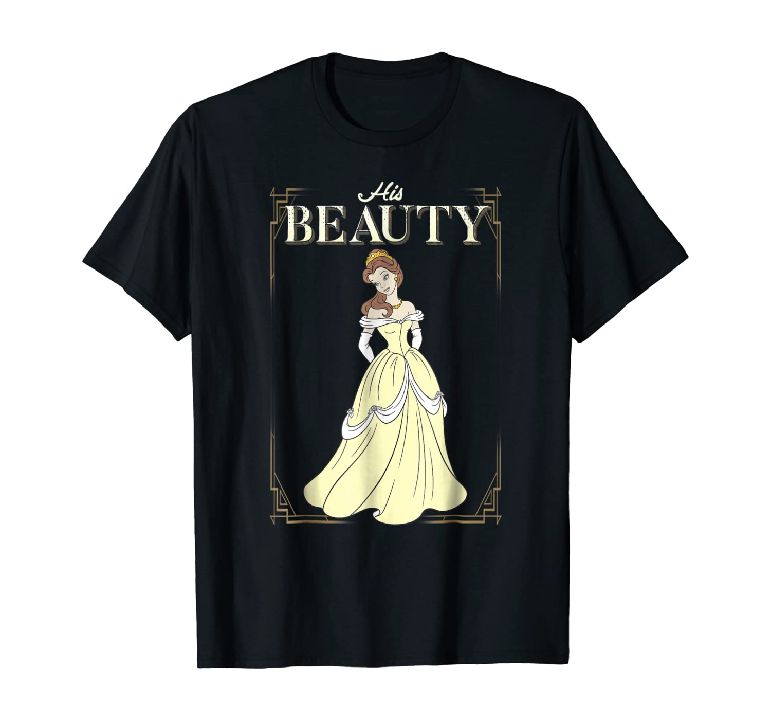 Disney Beauty & The Beast Belle His Beauty Graphic T-Shirt