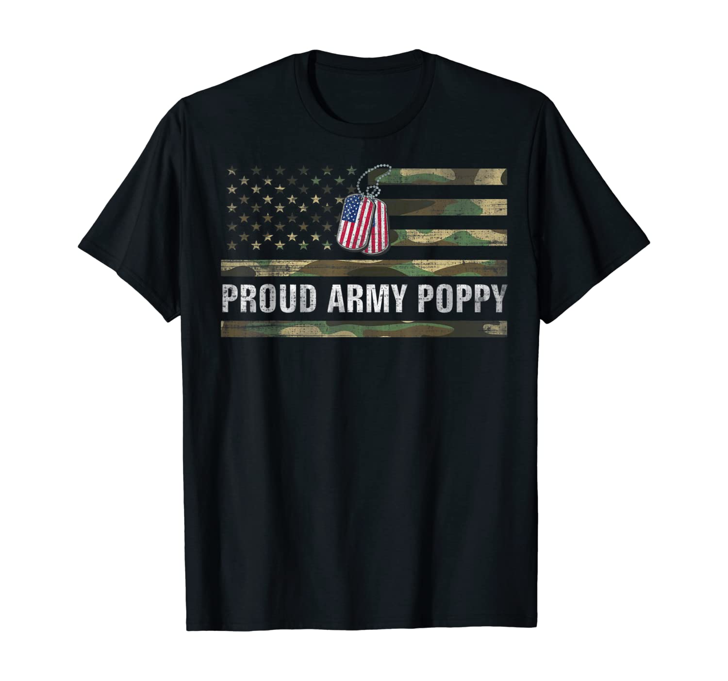 Vintage American Flag Proud Army Poppy Veteran Day Gift Shirts