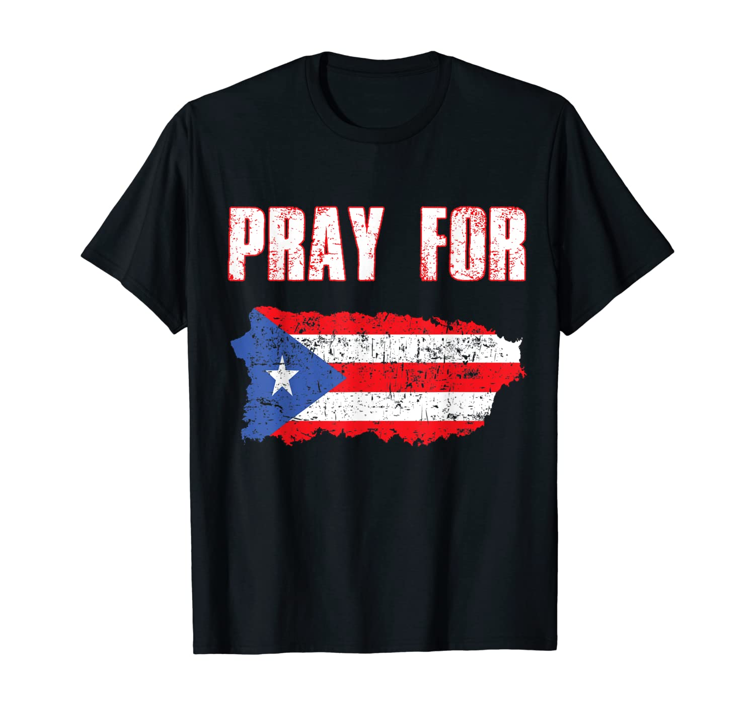 Pray for Puerto Rico T-Shirt