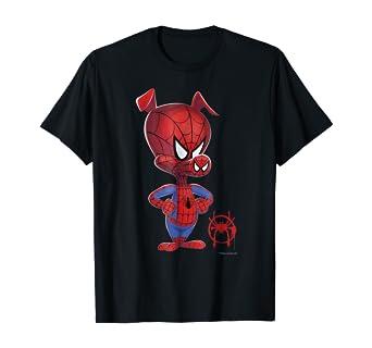 Marvel Girls Spider-Man Into The Spider-Verse Spider-Ham T-Shirt