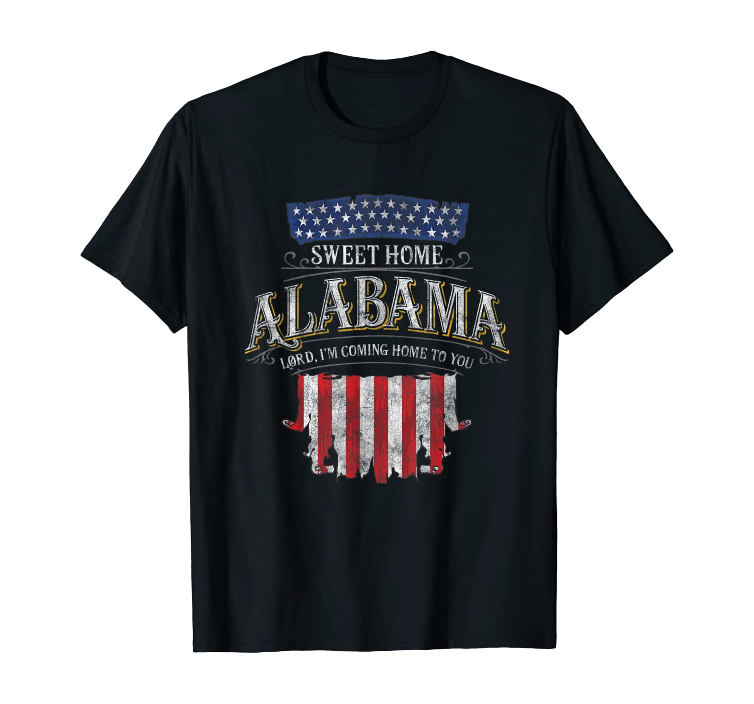 LyricVerse - Sweet Home Alabama T-Shirt